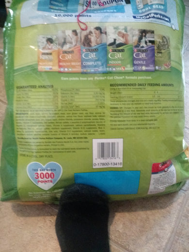 Purina Cat Chow Indoor + immune health blend - Nutrition facts - en