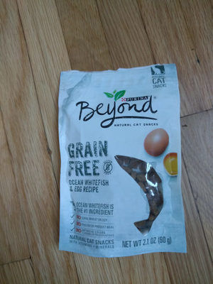 beyond natural cat snacks - Product