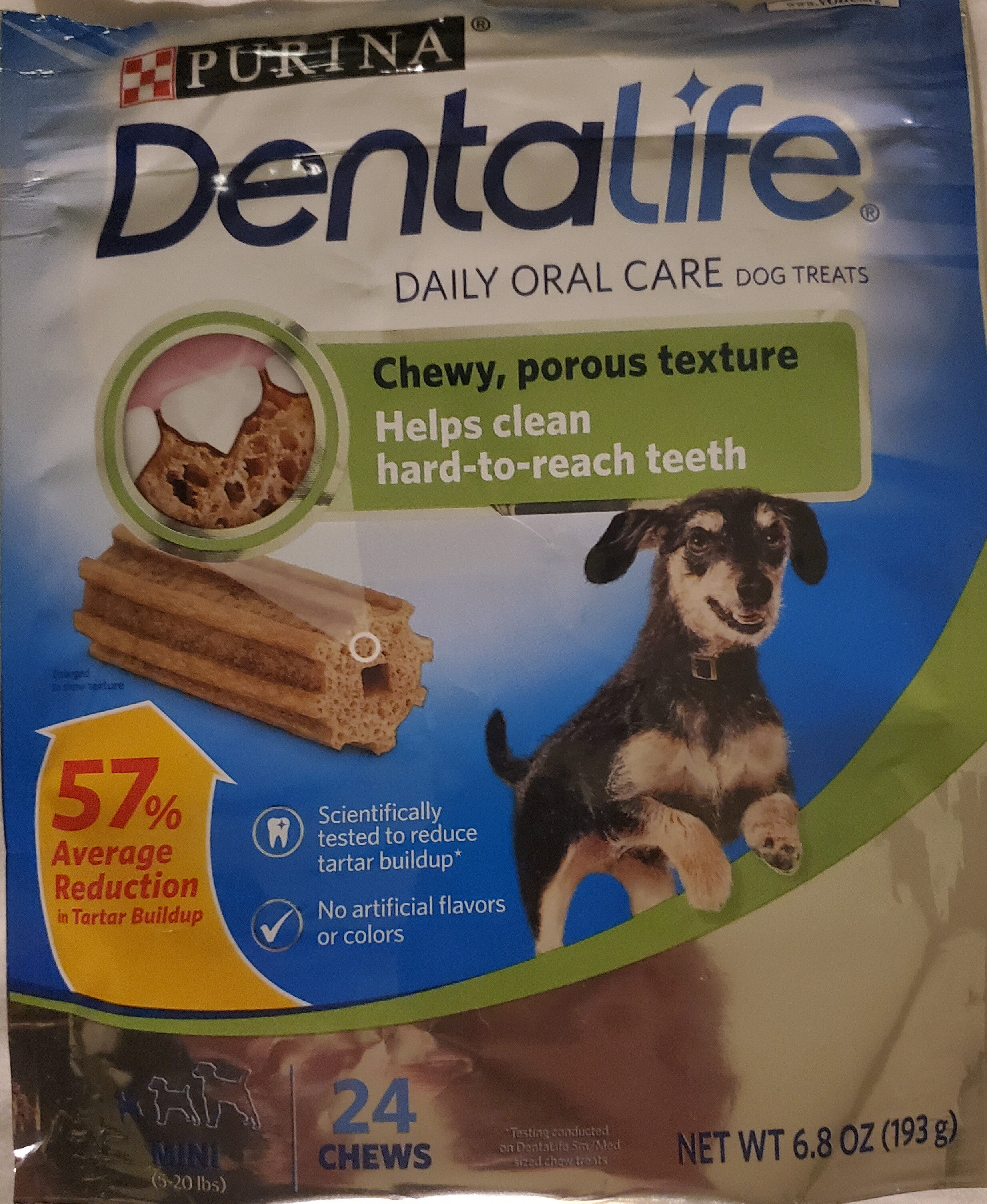 Purina DentaLife Daily Oral Care Mini Chew Treats for Small Dogs - Product - en