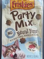 Friskies Party Mix Natural Yums (made with tuna) - Product - en