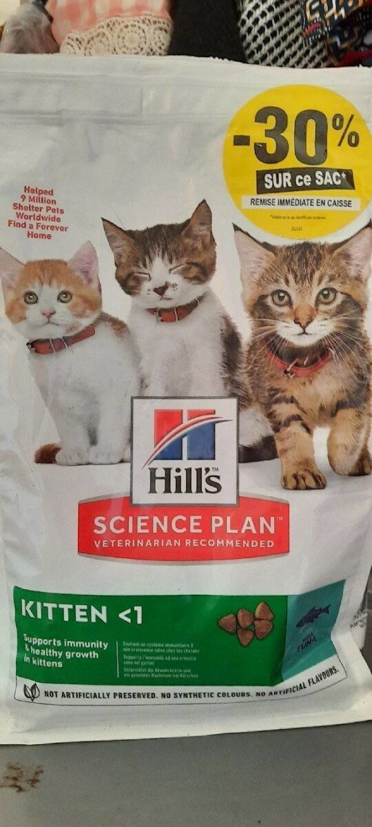 Science plan - Product - fr
