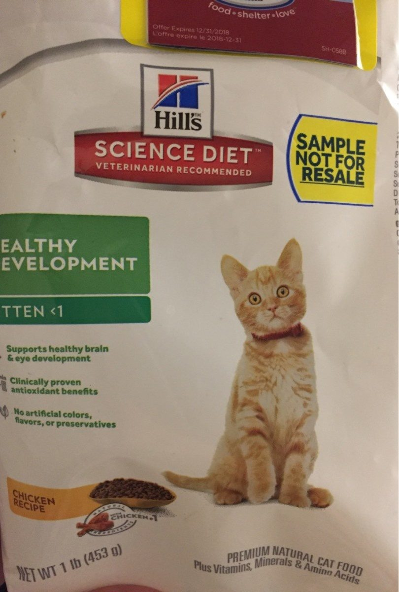Science Diet Cat Food - Product