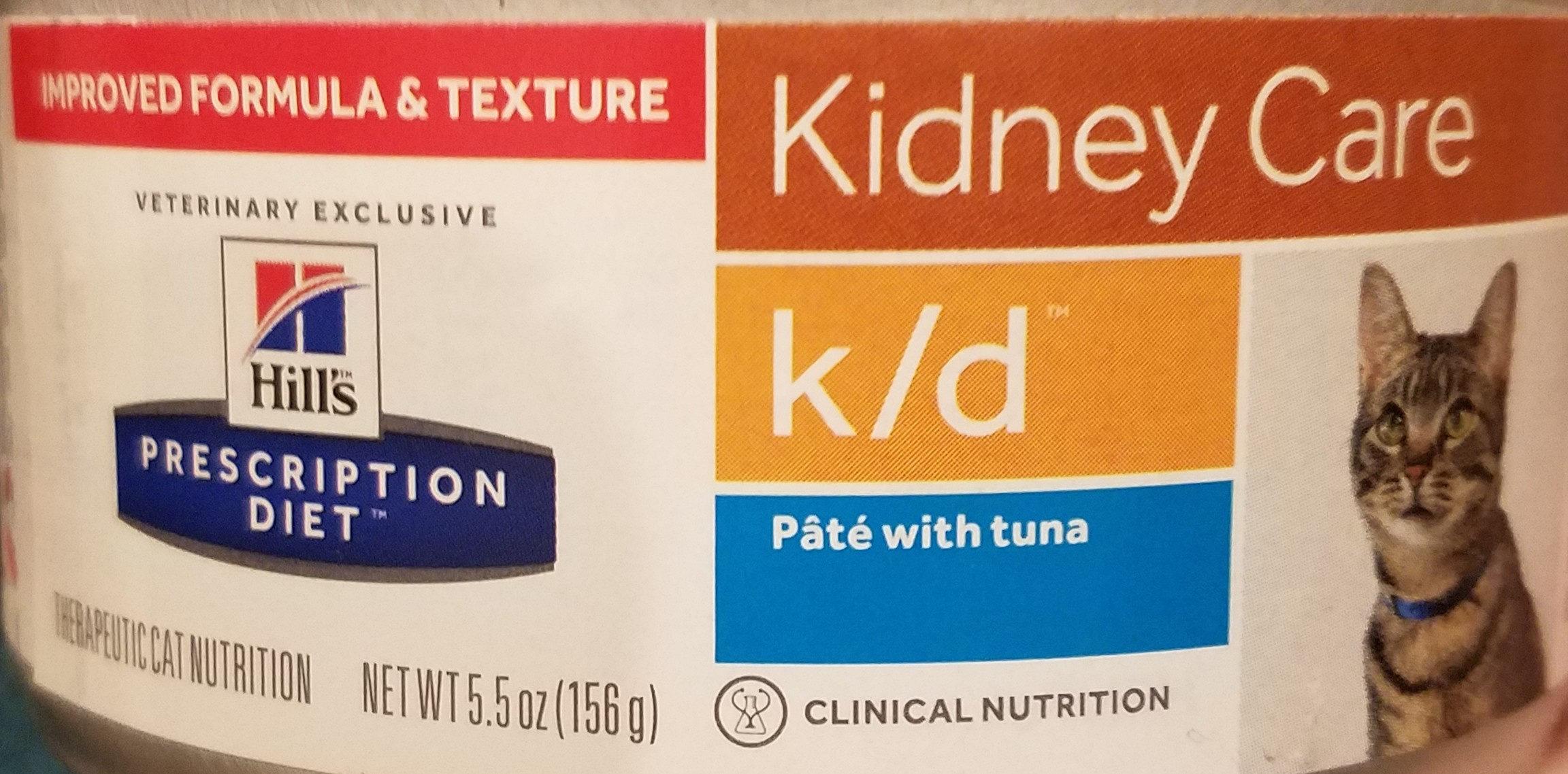 Prescription Diet k/d Feline Pâté with Tuna - Product