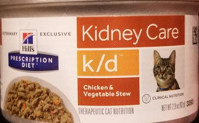 Prescription Diet k/d Feline Chicken & Vegetable Stew - Product