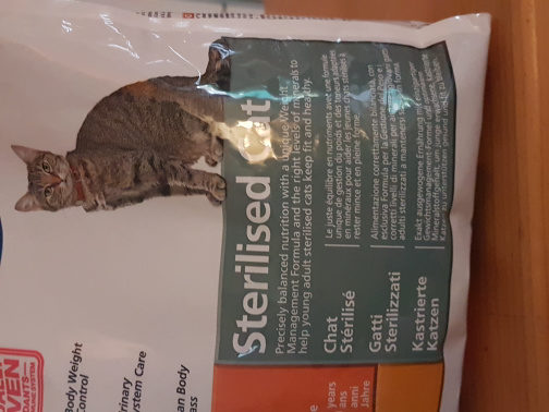 Hill's Science Plan Sterilised Cat young adult - Product
