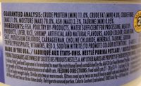 Friskies Seafood Supreme (pate) - Ingredients