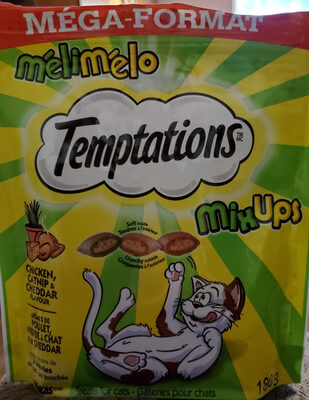 Mix Ups Chicken, Catnip & Cheddar - Product