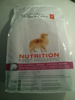 PC Nutrition First Toy & Small Breed Chicken and Brown Rice Premium - Product