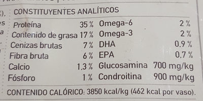 Pacifica - Nutrition facts
