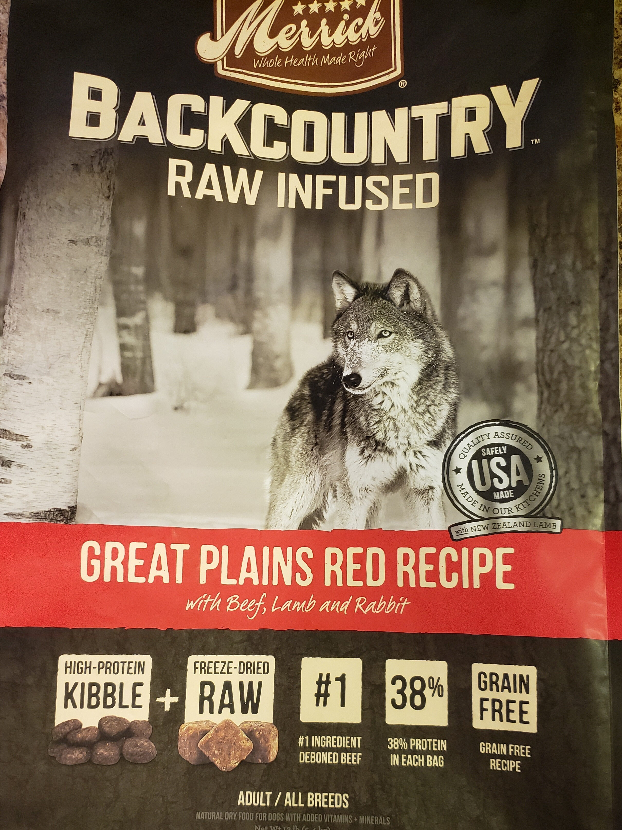Back Country Raw Infused - Product