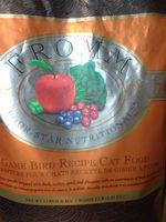 Game Bird Recipe Cat Food - Product - en