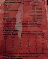 Southwest Canyon Canine Recipe - Nutrition facts - en