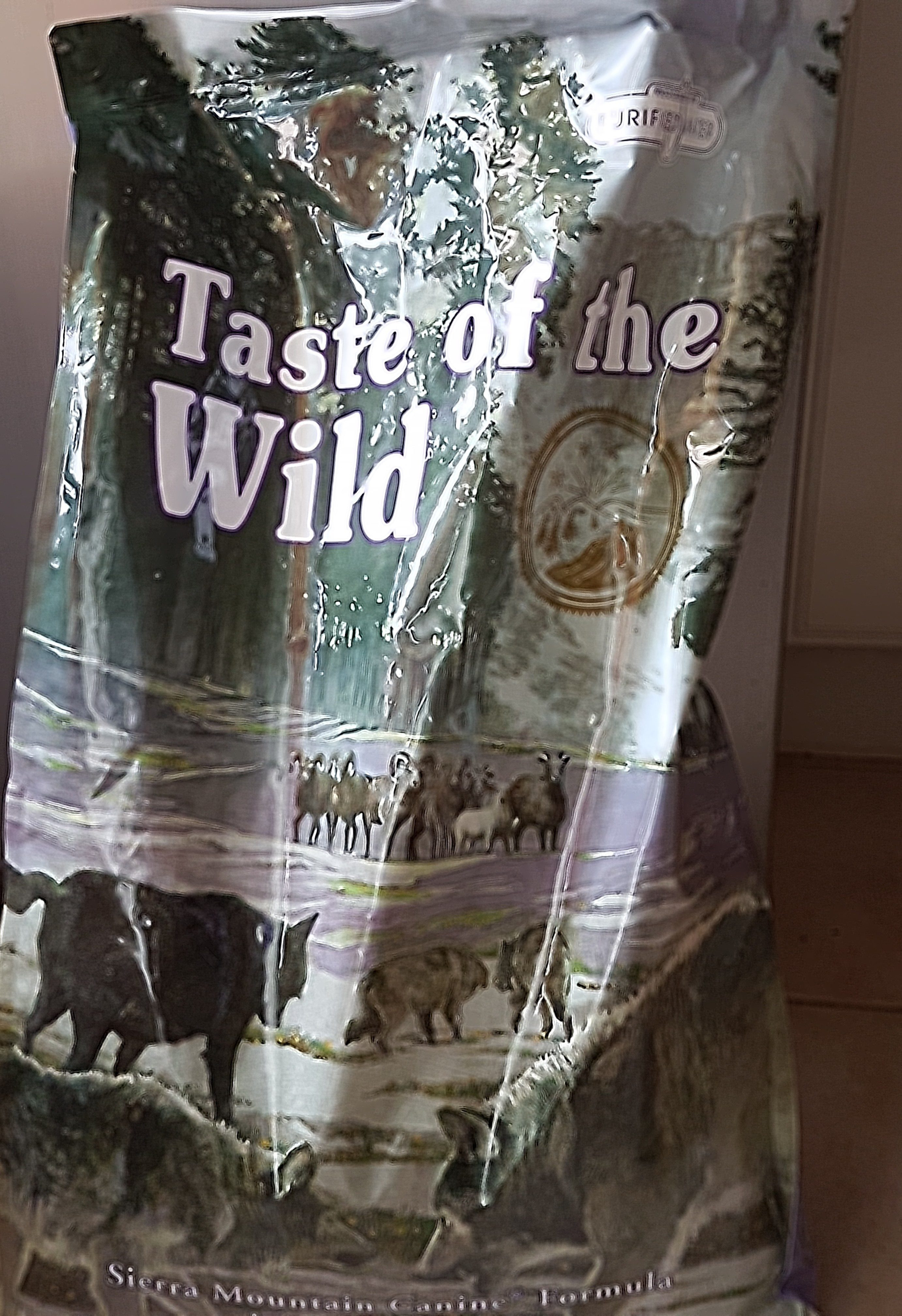 Taste of the wild sierra mountain canine - Product