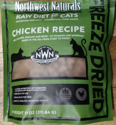 Freeze Dried Chicken Recipe - Product