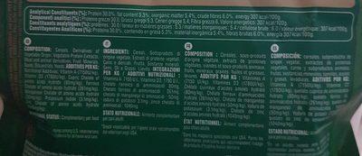 Greenies - Bâtonnets à Mâcher Pour L'hygiène Dentaire Pour Mini Chien - X43 - Nutrition facts