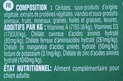 Greenies - Bâtonnets à Mâcher Pour L'hygiène Dentaire - Ingredients