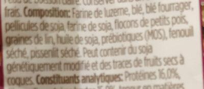 Balanced Guinea Pig Food - Ingredients - fr