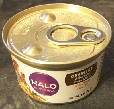 Halo spots stew chicken recipe - Product - en