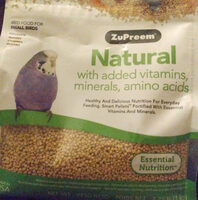 Zupreem Natural Small Birds - Product