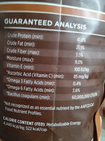 instinct original - Nutrition facts