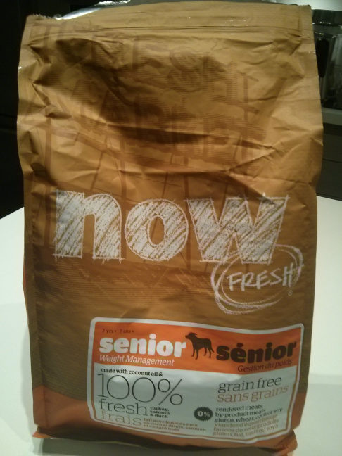 NOW FRESH Grain Free Senior Recipe - Product