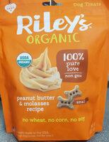 Peanut Butter and Molasses Recipe Dog Treats - Product - en