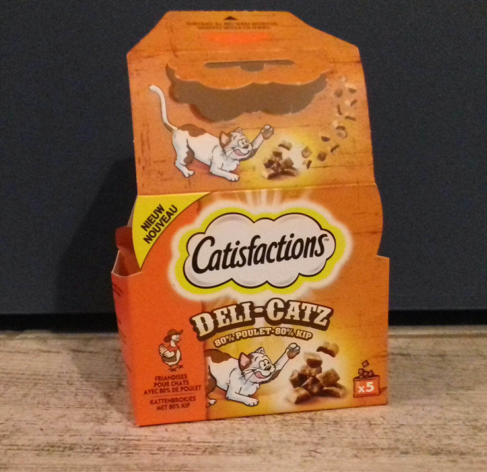 Castisfactions DELI-CATZ - Produit - fr