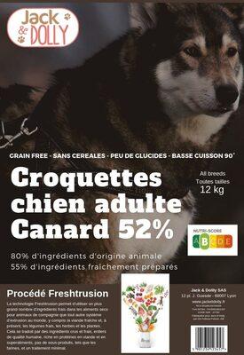Croquettes pour chiens adulte au canard - Product - fr