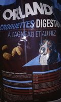 ORLANDO digestion croquettes a l'agneau et au riz - Produit