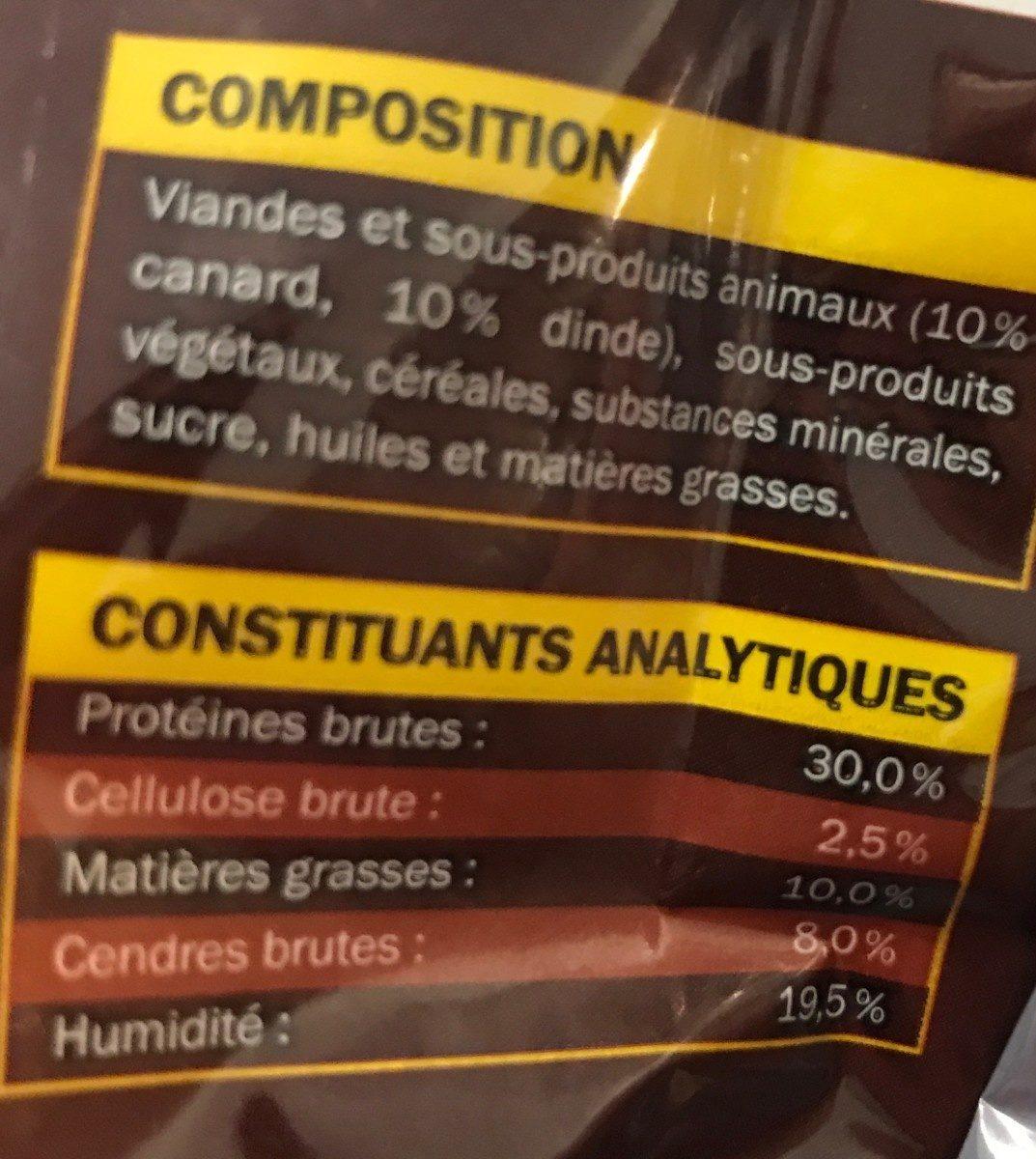 Lamelle De Viande Pour Chien - Ingredients