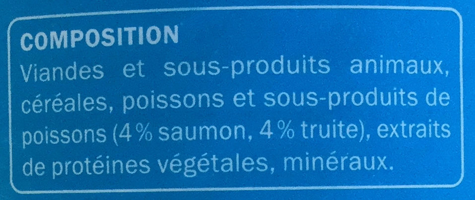 Émincés au saumon et à la truite - Ingredients