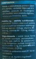 Bouchées à la viande, aux pâtes et aux carottes en sauce - Ingredients - fr