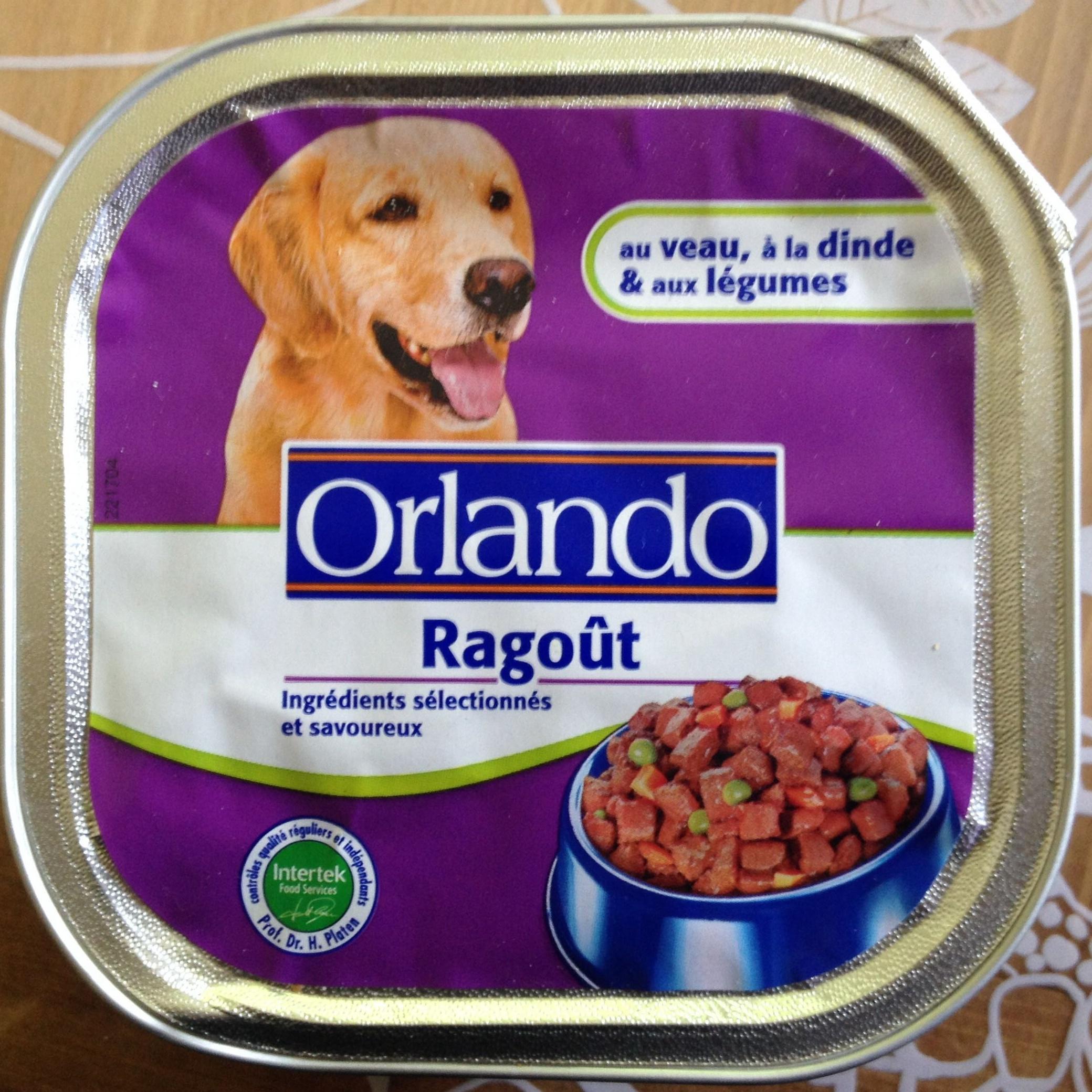 Ragoût au veau, à la dinde et aux légumes - Product
