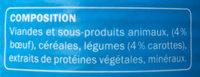 Émincés au bœuf et aux carottes - Ingrédients