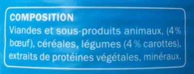 Émincés au bœuf et aux carottes - Ingredients - fr