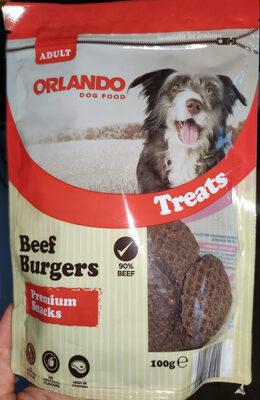 Beef Burgers Premium Snacks - Product - en