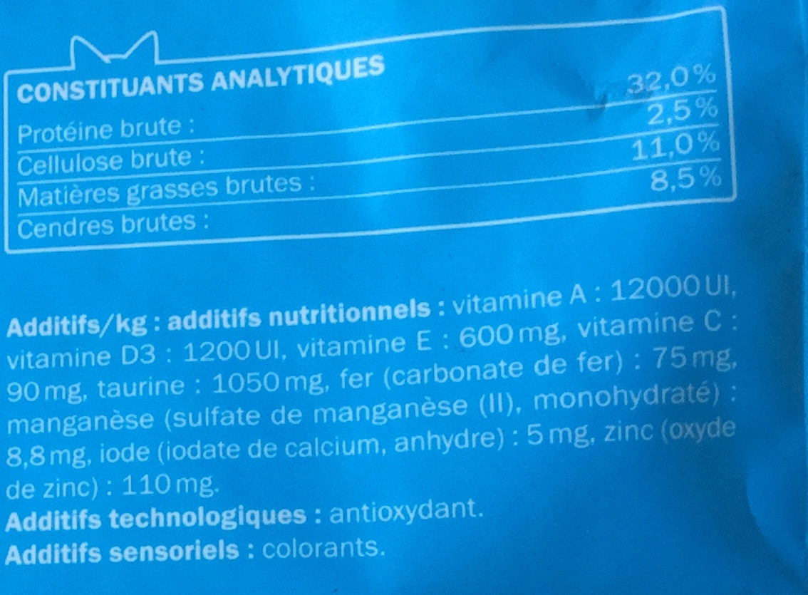Complet au thon - Nutrition facts