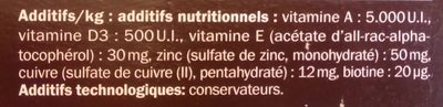 Sticks dentaires - Ingredients