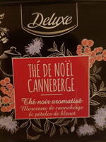Thé de Noël canneberge - Product