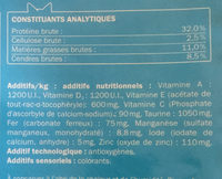 Au saumon - Nutrition facts