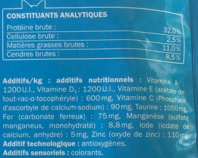 Au bœuf - Nutrition facts
