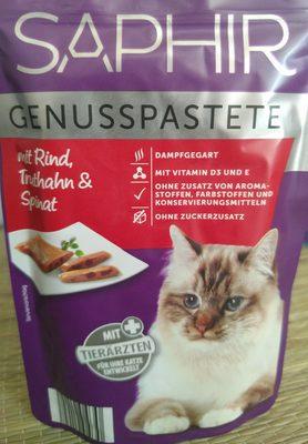 Genusspastete mit Rind, Truthahn & Spinat - Product