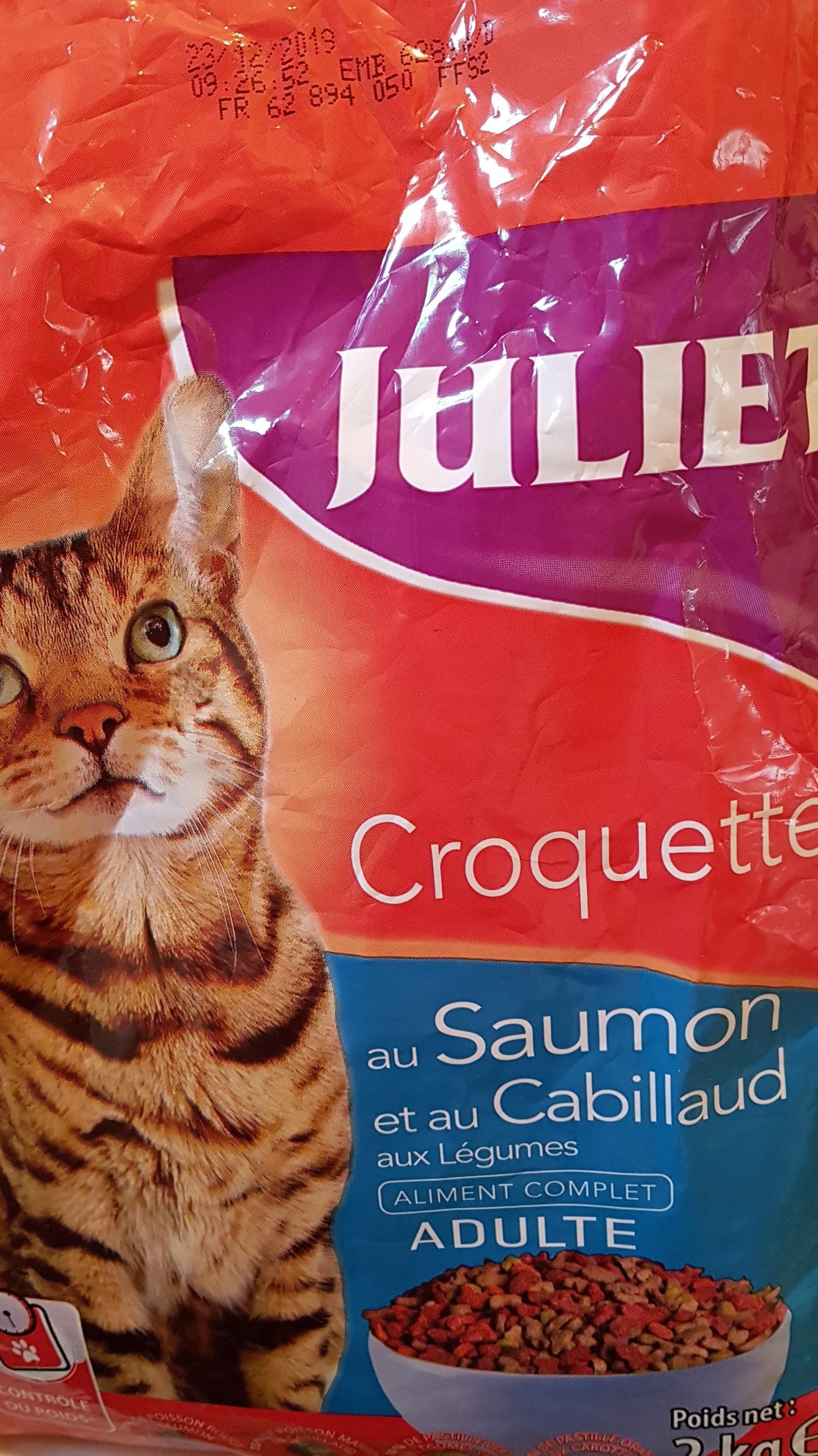 Julie croquettes saumon cabillaud - Product