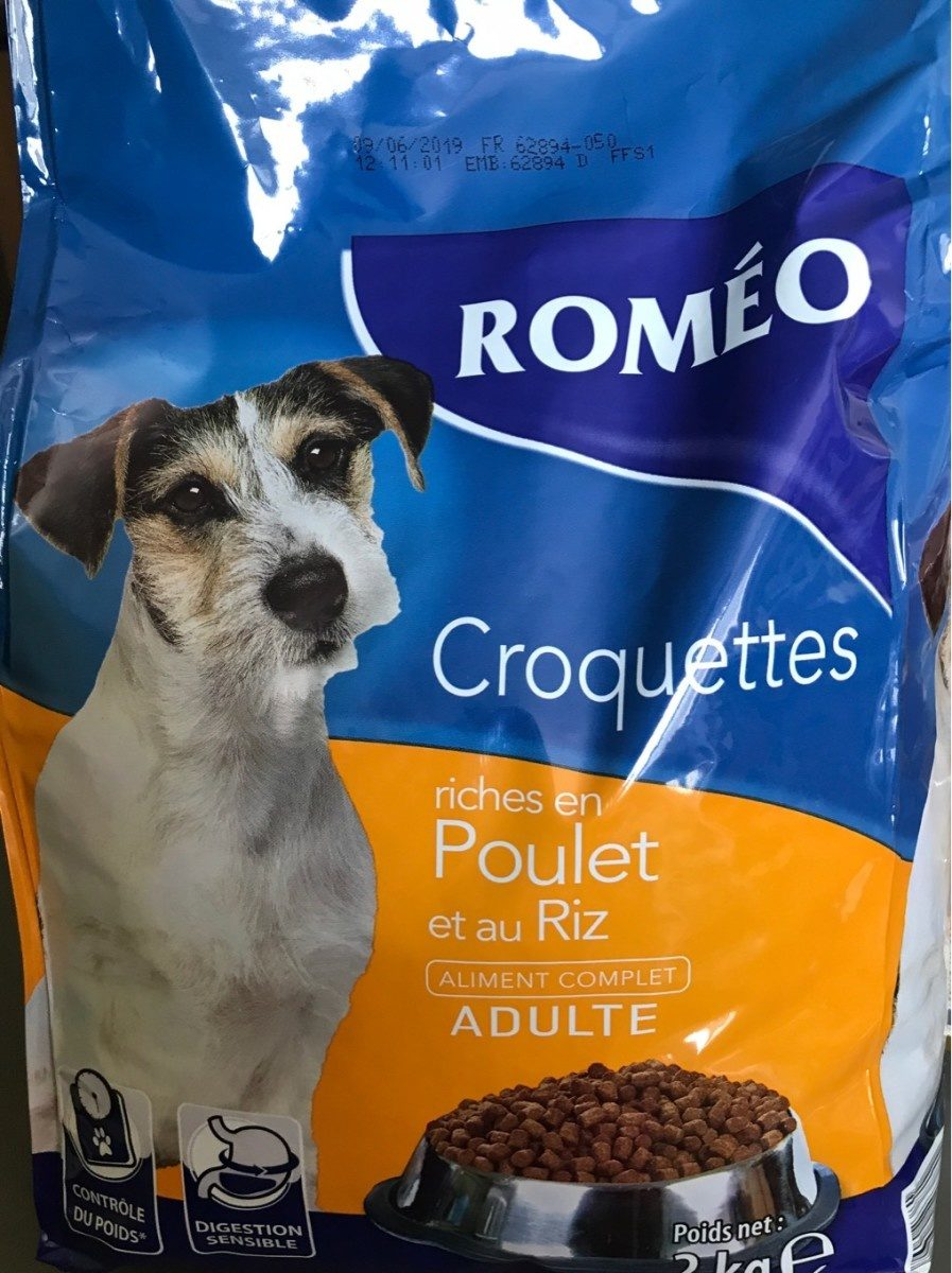 Croquettes petit chien - Produit