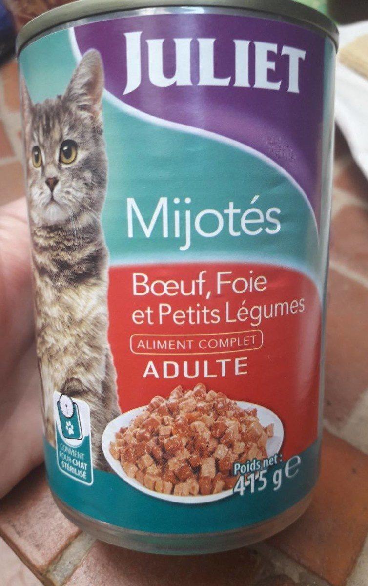 Mijoté Boeuf foie et petits légumes - Product - fr