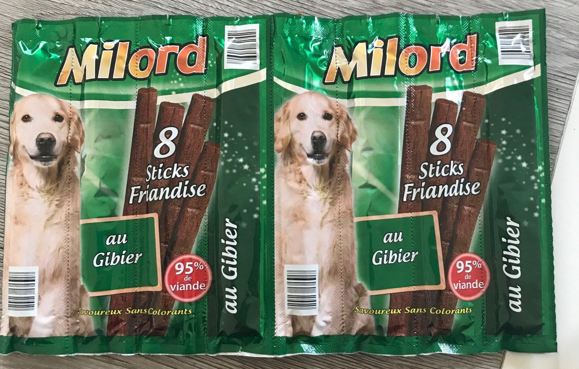 Sticks friandise au gibier - Product
