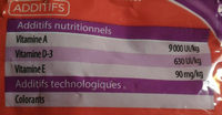 Snacks - Informations nutritionnelles