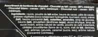 Pralines Belges - Ingredients - fr