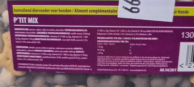 Lucky Dog Aliment Complémentaire - Nutrition facts - fr