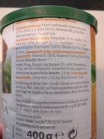 Nassfutter reich an Huhn mit frischen Fleischstücken - Ingredients
